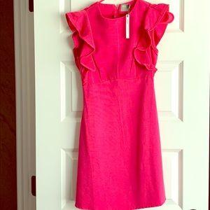 ASOS petite 00 pink dress new!